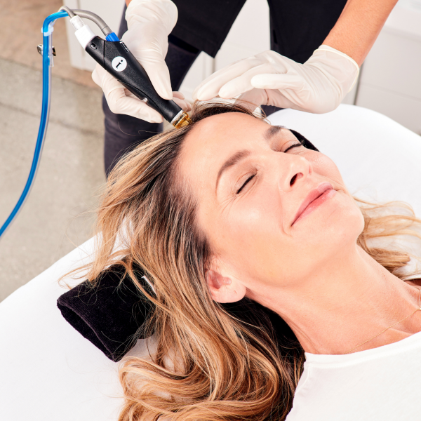 hydrafacial keravive treatment