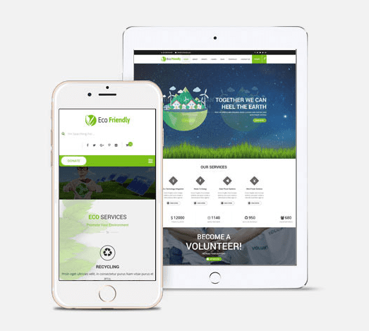 Eco Friendly Websites we can build you 3